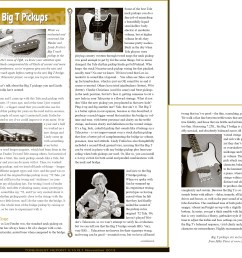 here is an article from tone quest report magazine about the big t pickups  [ 1872 x 1625 Pixel ]