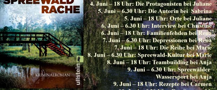 Banner für Blogtour Spreewaldrache