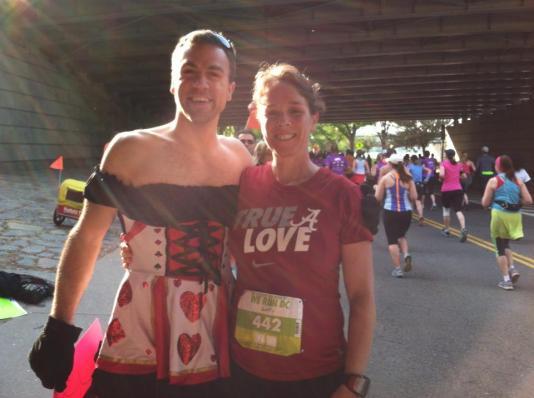 Nike Women's Half Marathon DC - Queen of Hearts