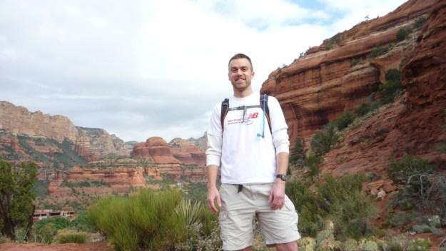Dave at Sedona Vortex Boynton Canyon