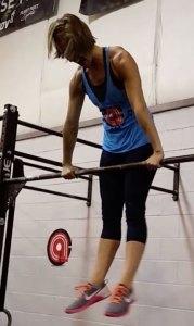 Kayla muscle-up