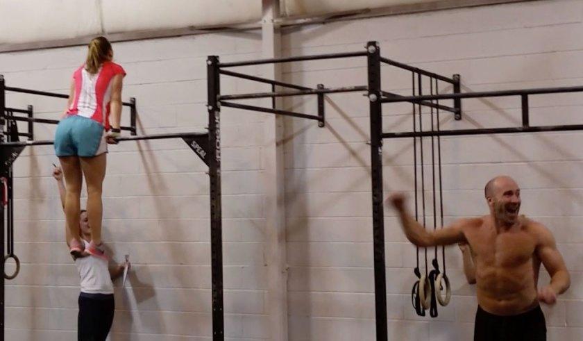 Rachel muscle-up