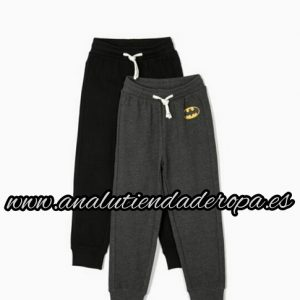 Pack 2 pantalones chandal niño batman Zippy