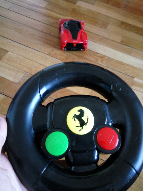 Remote controlled Ferrari one of your gift