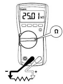 Fluke 117 Digital multimeter: Measurements