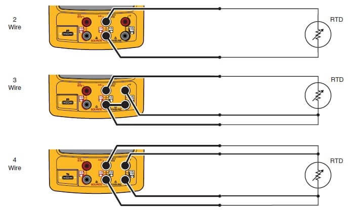 Wire Rtd Wiring A 4 Wire Rtd 4 Wire Rtd Circuit Diagram More