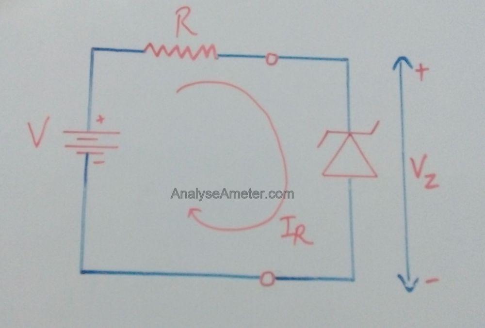medium resolution of zener diode working diagram