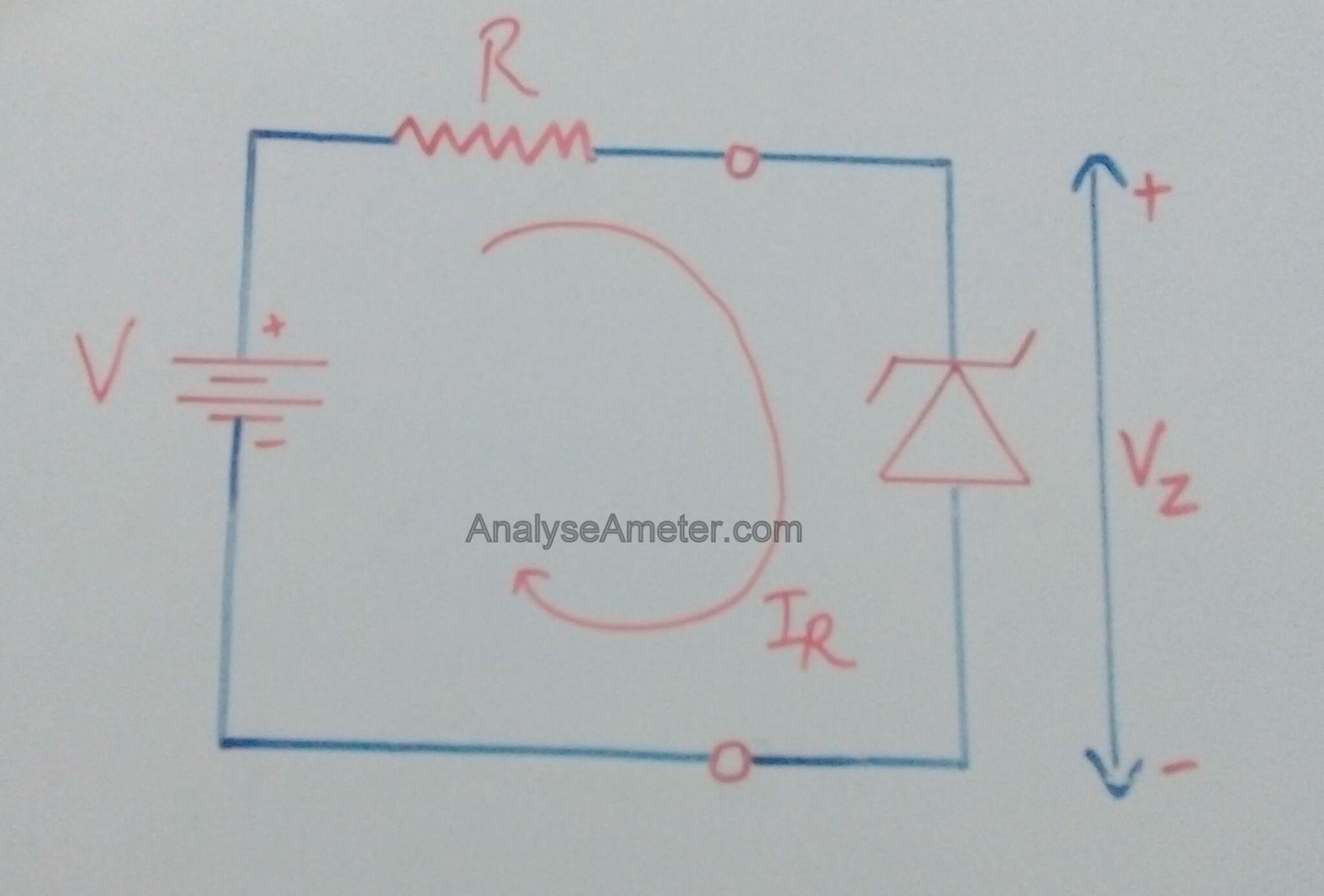 hight resolution of zener diode working diagram