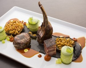 Gourmet ελληνικό πιάτο