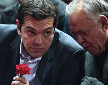 ΕΙΚΟΝΑ---Τσίπρας,-Παπανδρέου,-Σαμαράς,-μνημόνιο,-δημοψήφισμα-Εξ