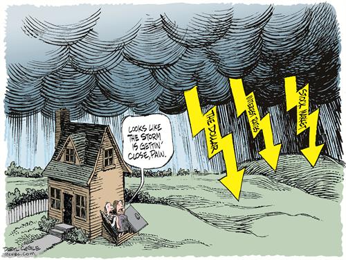 Ενδείξεις μίας τέλειας καταιγίδας