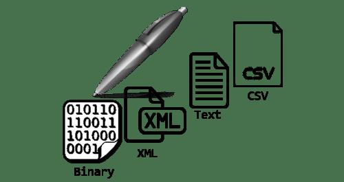 Writing files in VBA (txt, xml, csv, binary)
