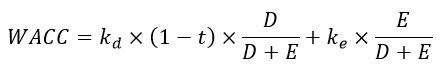 WACC Equation