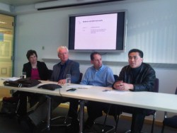 The Constellation Research team at the IIAR London Forum, March 2012