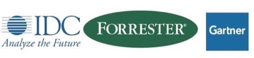 Gartner IDC Forrester logos - IIAR blog post