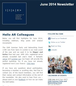 Jun14 Newsletter