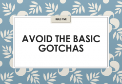 Jon Collins: Avoid the basic gotchas (IIAR website)