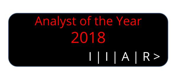 IIAR Analyst Of The Year 2018: Margaret Adam / IDC