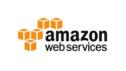 Amazon Web Services (AWS) logo on IIAR website