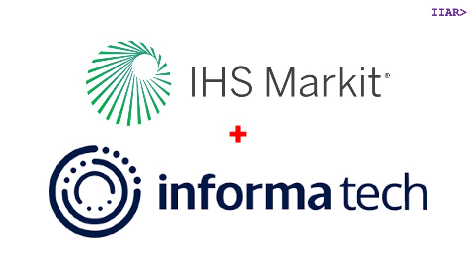 GUEST POST] Informa adds IHS Markit tech analysts to equal