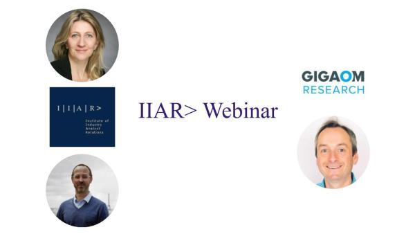 IIAR> Webinar with Jon Collins / GigalOM