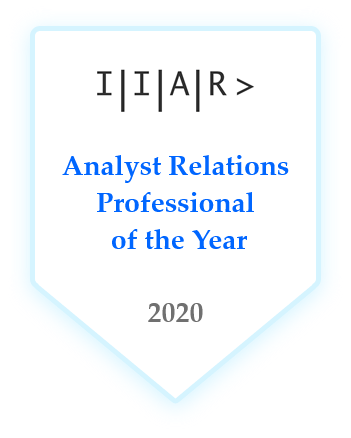 IIAR> AR Professional of the Year 2020