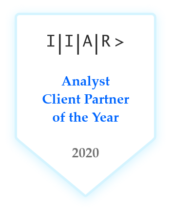 IIAR> Client Partner of the Year 2020