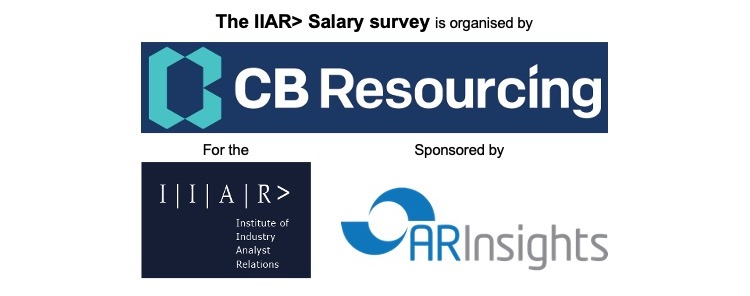 2021 IIAR> Salary Survey shows analyst relations professional salaries significantly increased over decade
