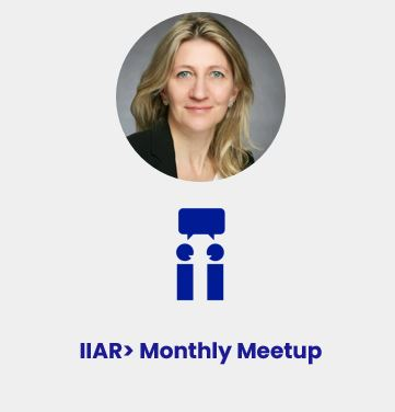 Anja Steinman / IIAR> UK Chapter