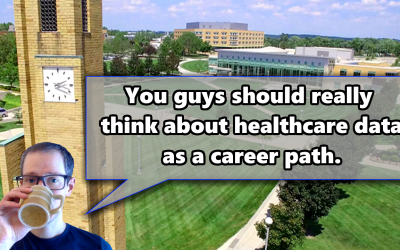 Healthcare data is a career path you should consider — my presentation to the Data Analytics Association at Ferris State University