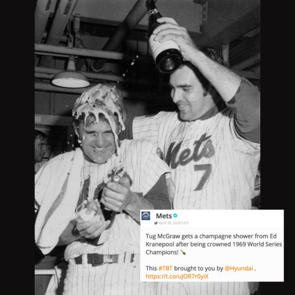 New York Mets Tug McGraw