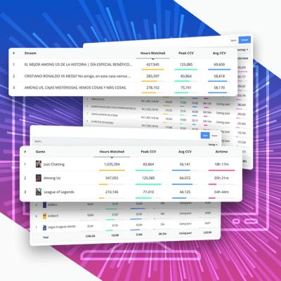 Blinkfire Analytics Streaming Data Table