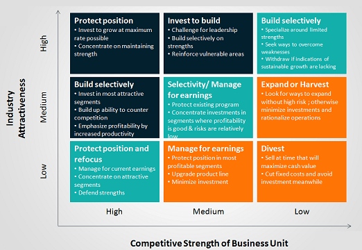 GE McKinsey Matrix: How to Apply it to your Business