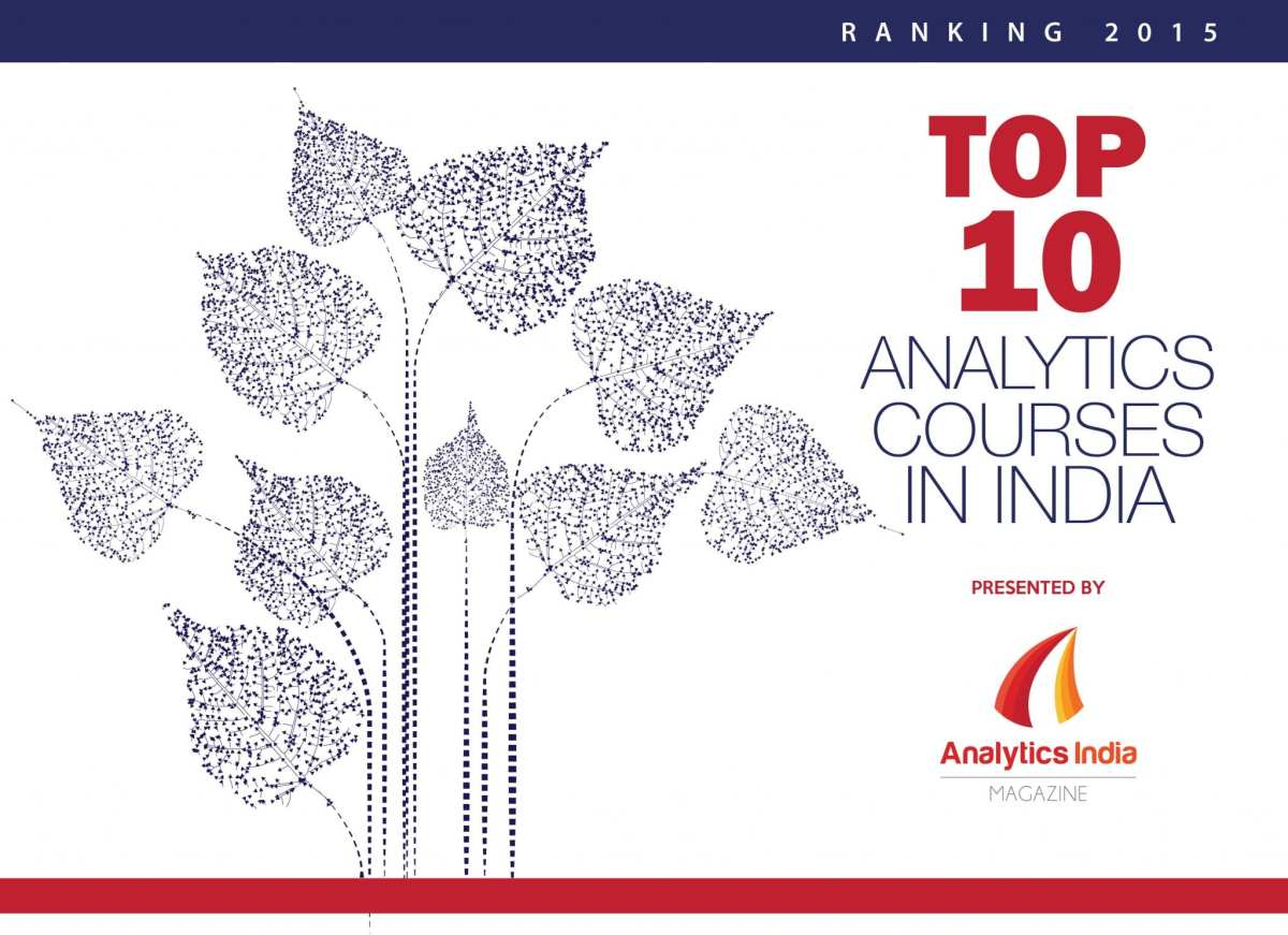 Top 10 Analytics Courses in India – Ranking 2015