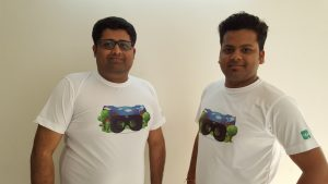 CoFounders Pranshul Chandhok(Left) & Abhishek Gupta(Right)_Greykernel
