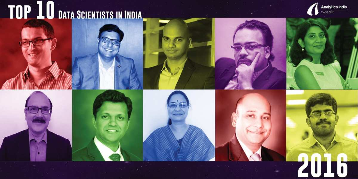 Top 10 Data Scientists in India – 2016