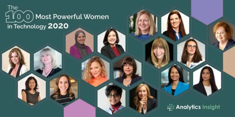 The 100 Most Powerful Women in Technology 2020