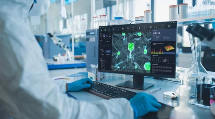 The power of cloud computing and AI accelerates drug production