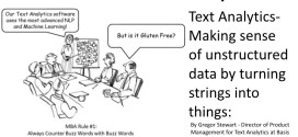 Making sense of unstructured data by turning strings into things