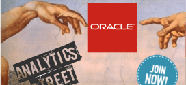 Oracle is Sponsoring Boston's @AnalyticsWeek Data Analytics Conference