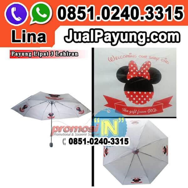 Payung Souvenir Ulang Tahun Anak