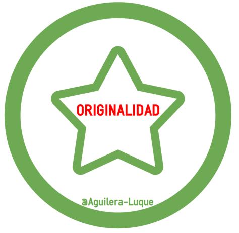 originalidad @Aguilera-Luque
