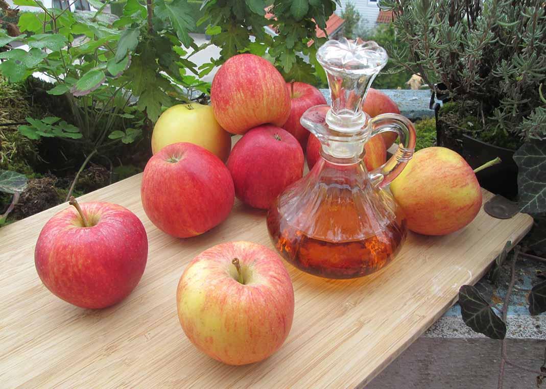vinagre de sidra de manzana en ayuno