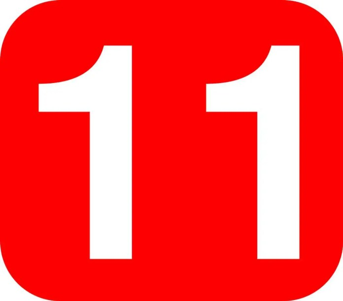 El 2018 es un Año Colectivo 11, que es considerado un número maestro