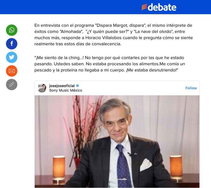 El diario creyó que la supuesta entrevista de Horacio Villalobos era real ¡ya así lo publicó!
