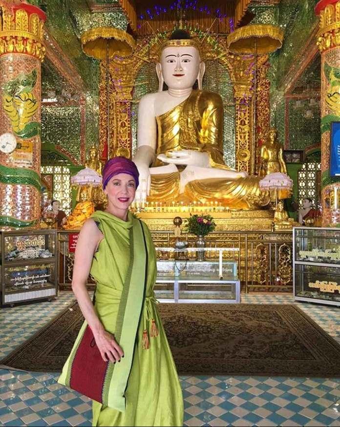 Quedó enamorada de la cultura asiática