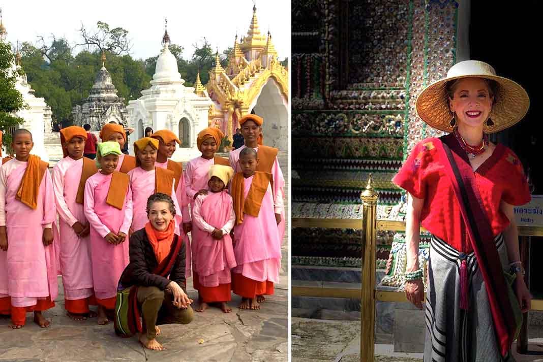 Edith lleva ya tres semanas viajando por países asiáticos