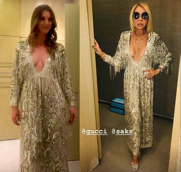 Laura Bozzo no dejó que las modelos le mostraran los diseños: ella misma quiso modelarlos