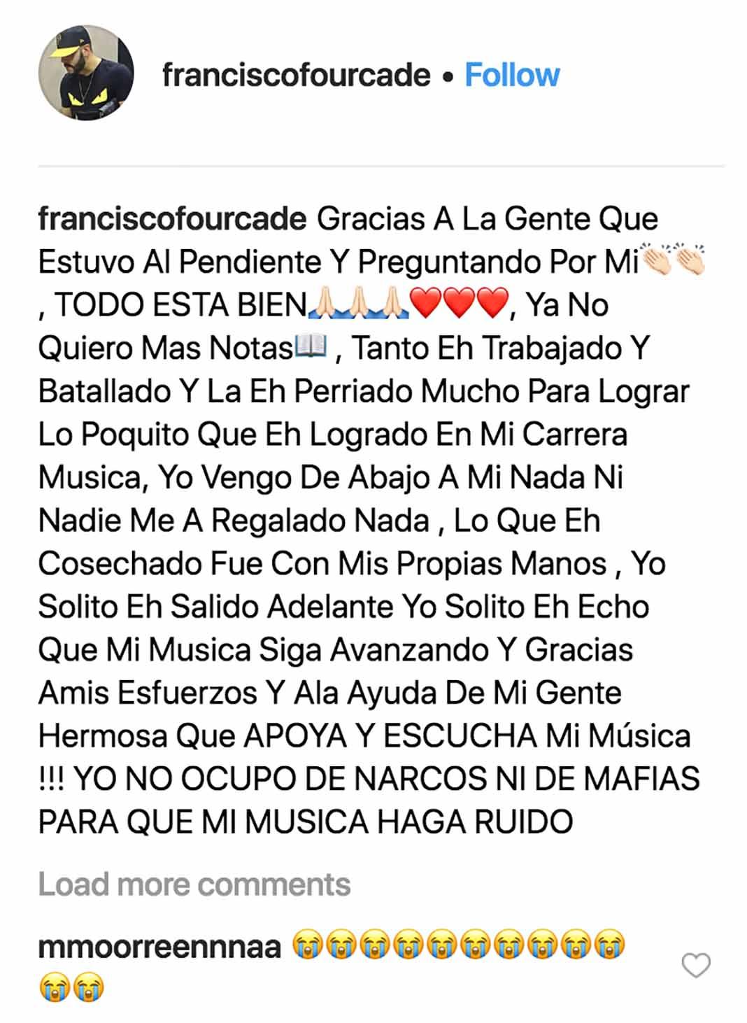 El cantante tenía sólo 24 años de edad y era originario de Guaymas, Sonora