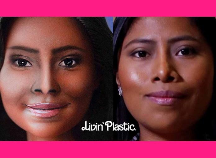 La empresa mexicana Livin' Plastic es quien hizo esta muñeca